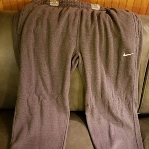 Nike Grey Fleece Sweatpants